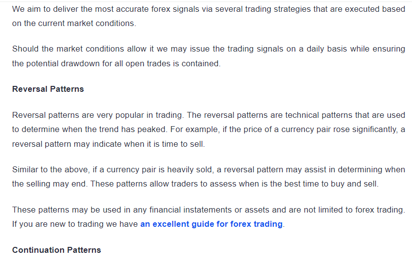 Trading approach of DDMarkets