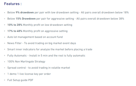 Features of Red Fox EA