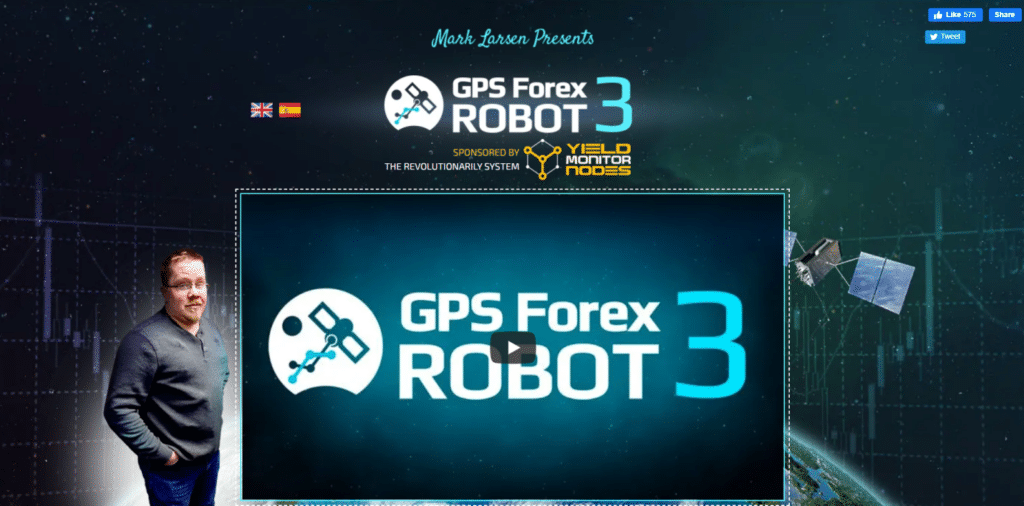 gps forex robot cover